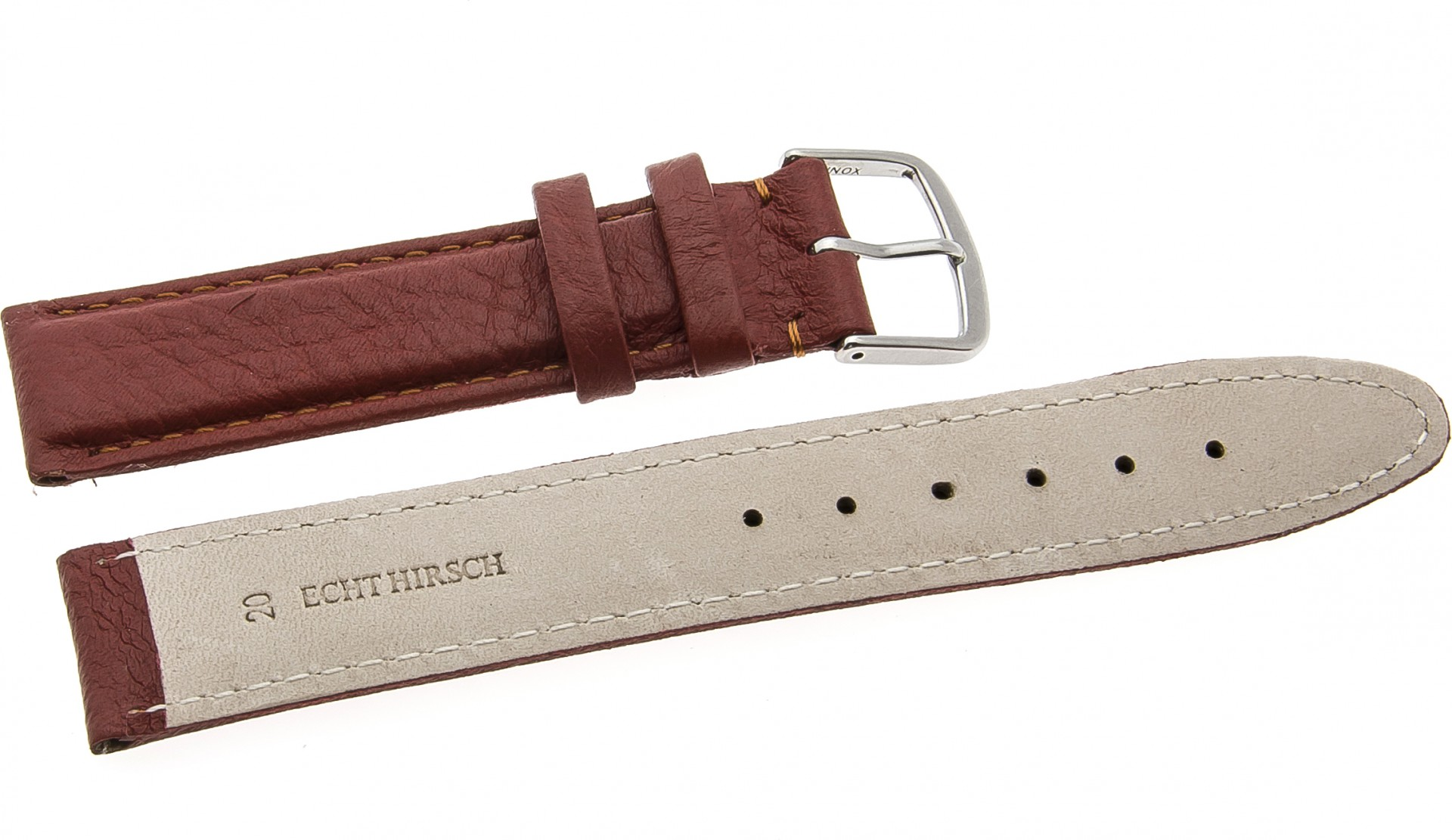 18mm 20mm uhrenarmbander dornschlie e armband uhrenarmba for Silberner hirsch