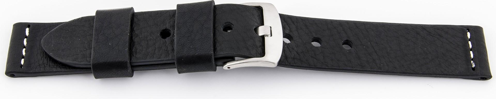uhrenarmb nder ravenna xl extra lang kalbleder schwarz mit. Black Bedroom Furniture Sets. Home Design Ideas