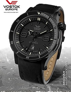 Vostok Europe Anchar Automatic black