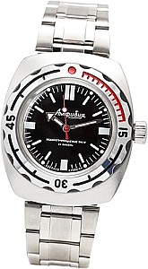 Vostok Automatic Watch Driver black