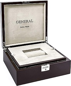 Gereral XL Watch box for 1 o'clock made of wood