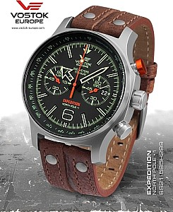 Vostok Europe Expedition North Pole 1 Chrono Titanium