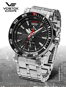 Vostok Europe Energia Rocket Automatik Power Reserve YN84-575A538b