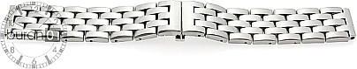 Metal Bracelet Stainless Steel - 5 members straight bar brushed