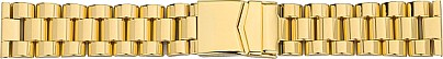 Watchband Stainless Steel PVD-gold