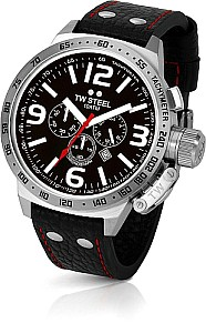 TW STEEL Canteen precision chrono movement - mineral crystal