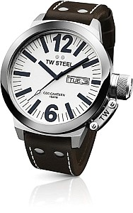 TW STEEL Ceo Canteen precision day /date movement - mineral crystal