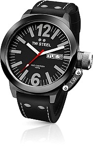 TW STEEL Ceo Canteen PVD black coated steel case