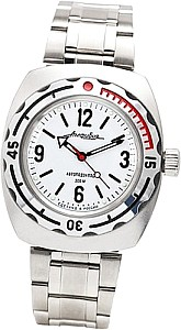 Vostok Automatic Watch Driver white