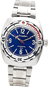 Vostok Automatic Watch Driver blue