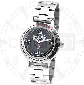 Vostok Automatic Diver Black with steel band