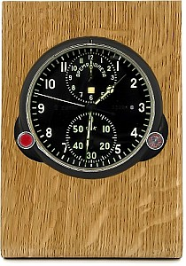 Buran01 Real wood holder for MIG clocks  brown