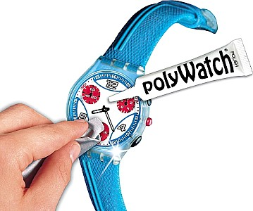 Polywatch Polishing paste for watch glasses, removes scratches from watch glasses