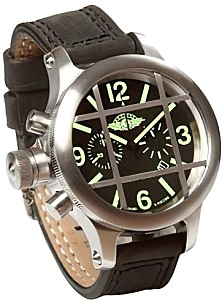 Professional diver Chronograph Case stainless steel matt