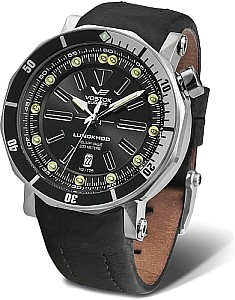 Vostok Europe Lunokhod 2 automatic version black incl. two straps
