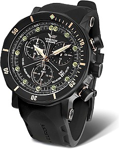 Vostok-Europe Lunokhod-2 Grand Chrono black