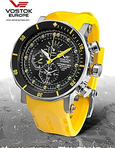 Vostok Europe Chronograph Lunokhod 2 Steel / Yellow