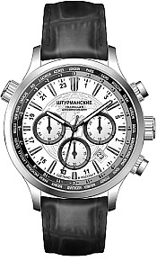 Sturmanskie Traveller Chrono Quarz S weiß