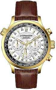Sturmanskie Traveller Chrono Quartz S Gold/weiß
