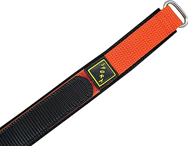 Watch Band Klettarmband Sport Dornschließe - Nylon - orange