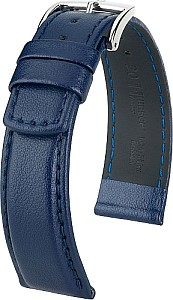 Watch strap Smooth leather 100 m Water-Resistant