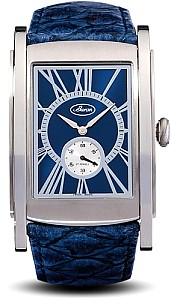 Buran SA Golf clockwork PESEUX SWISS 7001, 17 jewels Blue