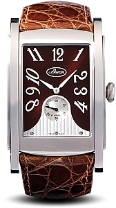 Buran SA Golf MECHANICAL PESEUX SWISS 7001. Brown