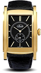 Buran SA Golf Gold / Black Movement Peseux Swiss 7001, 17 jewels