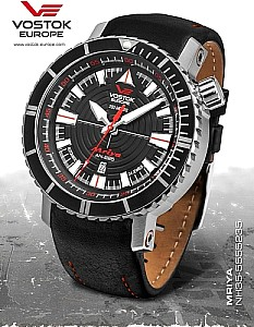 Vostok-Europe Mriya Automatic black/silver