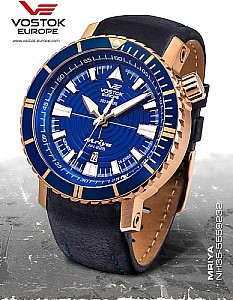 Vostok-Europe Mriya Automatic blue/rosegold